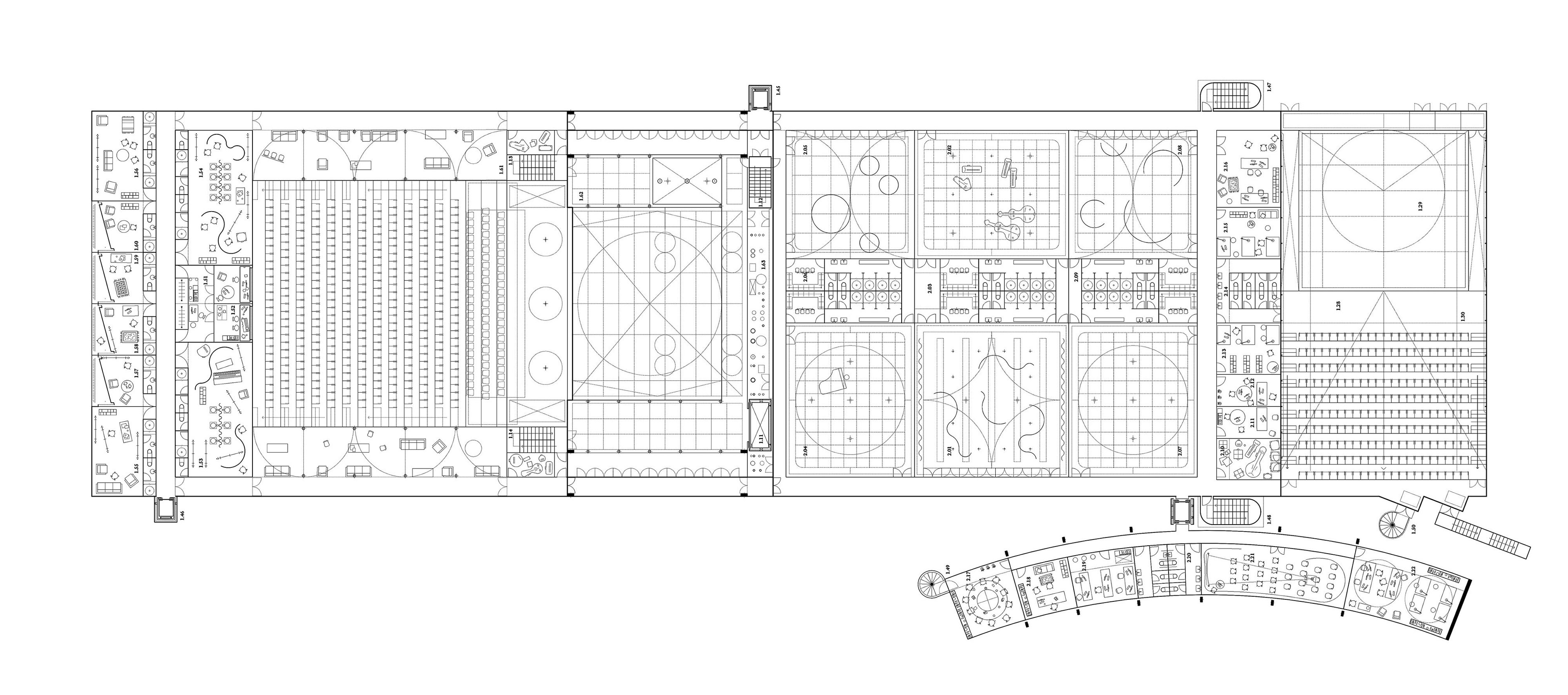 CECQ Quarteira Circus Maximus Pedro Pitarch Plan 2