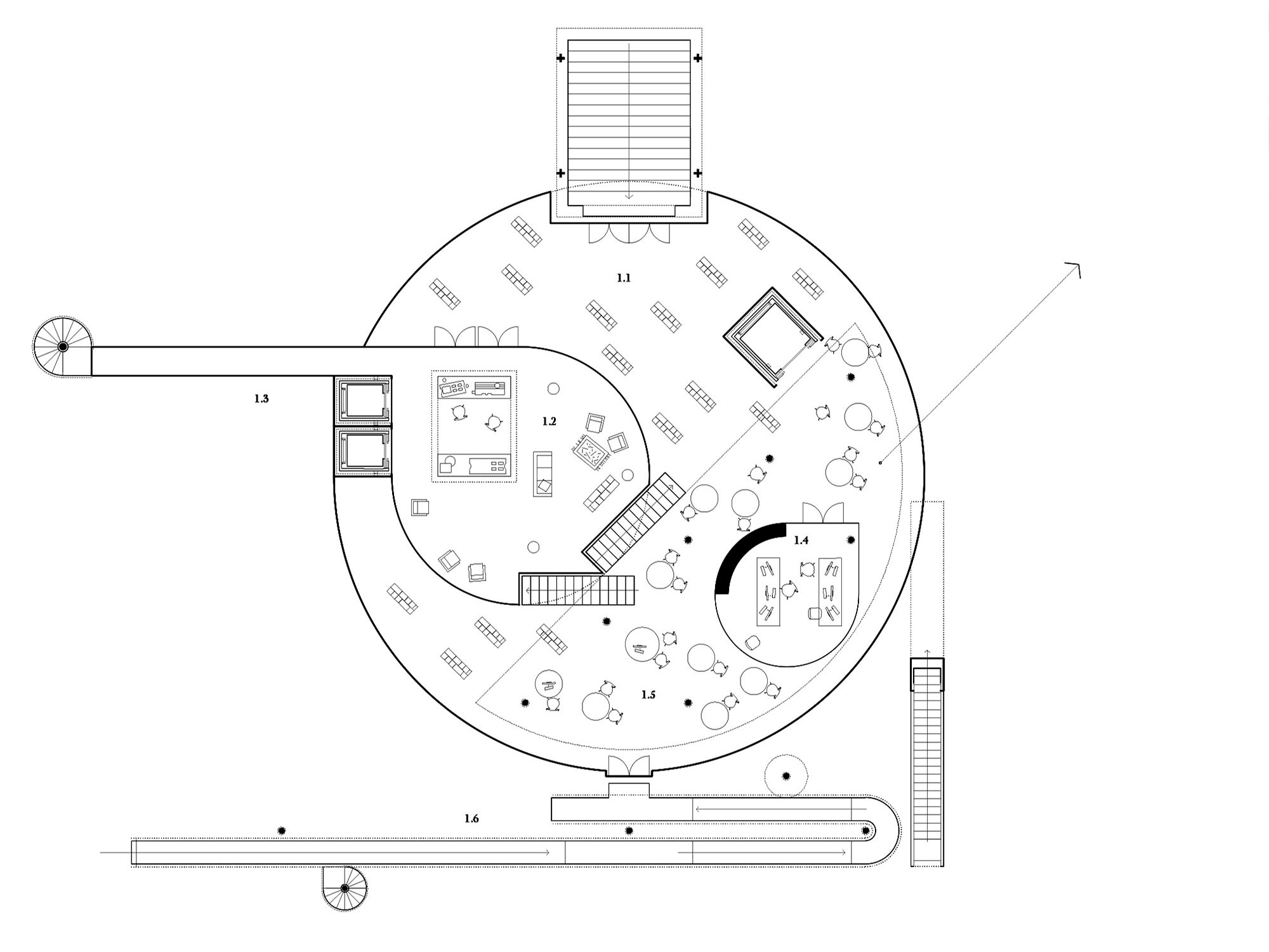 CECQ Circus Maximus Quarteira - Pitarch Library plan 4