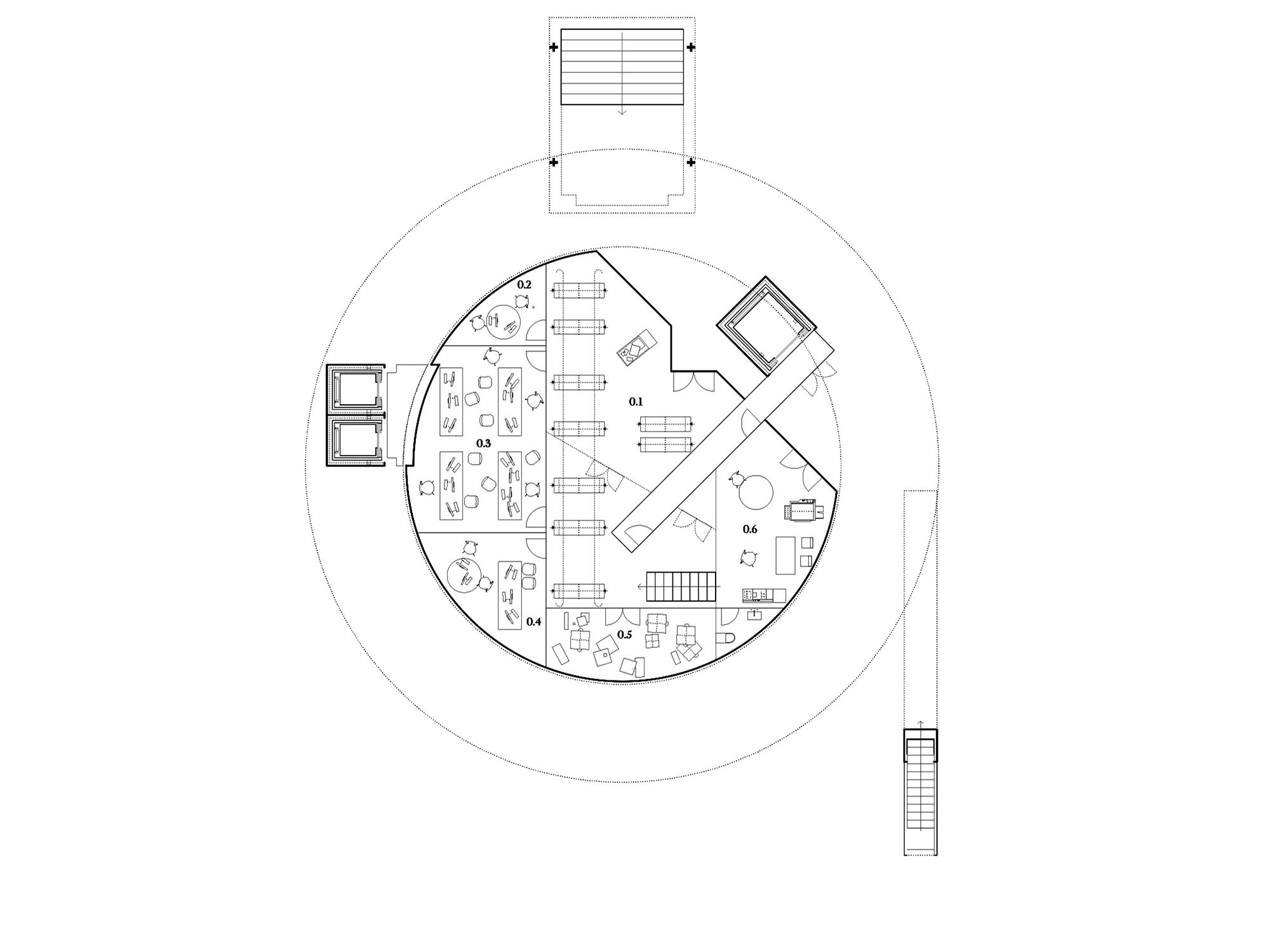 CECQ Circus Maximus Quarteira - Pitarch Library plan 5