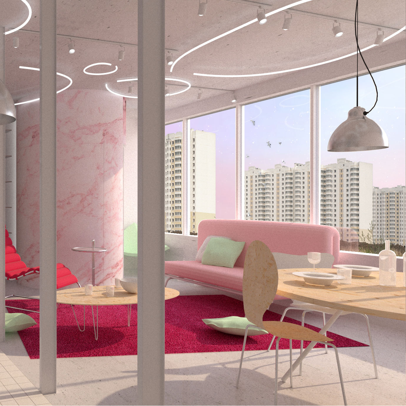DOM project Russia Pitarch Image Interior 6